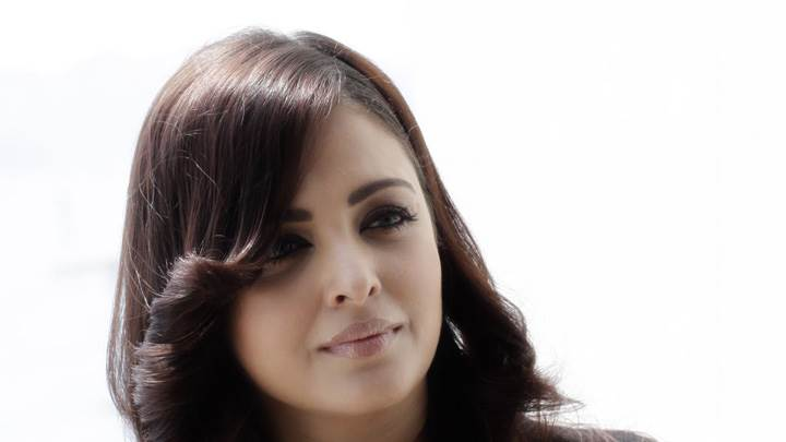 Aishwarya Rai 2012 Cannes Media Call Face Closeup